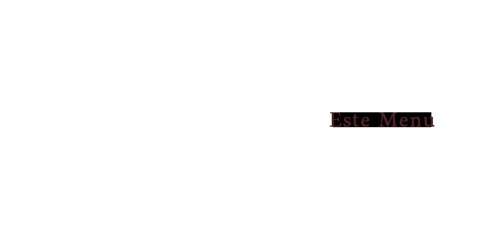 エステメニュー